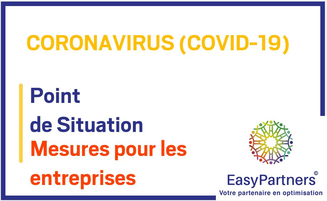 COVID-19 – 10 mesures gouvernementales pour soutenir les entreprises