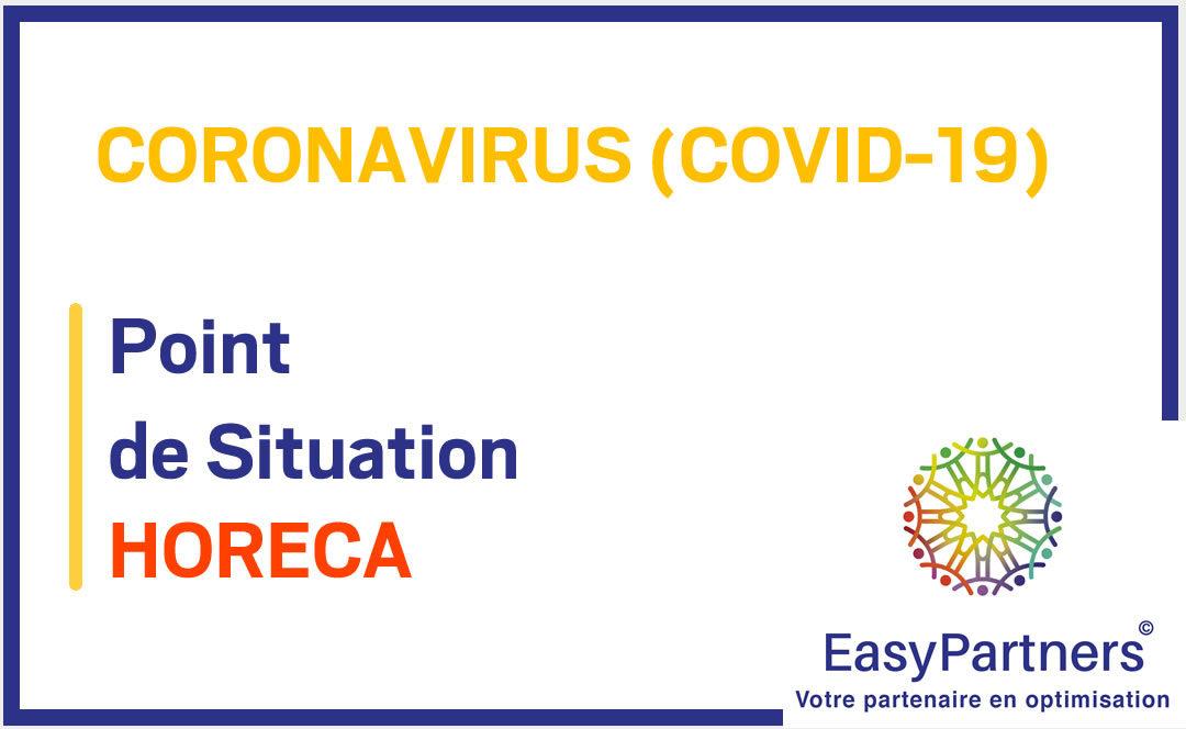 COVID-19 – HORECA – Livraison et plat à emporter, dois-je modifier ma BCE ?