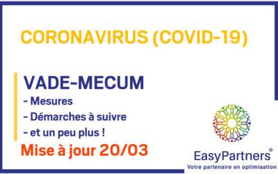 COVID-19 : VADE-MECUM 20/03