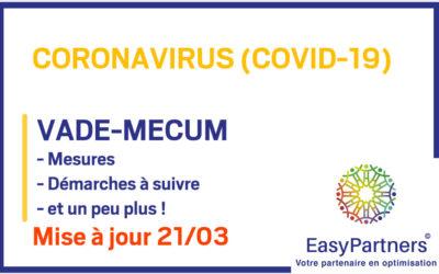 COVID-19 : VADE-MECUM 21/03